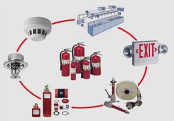 الخدمات الفنيه لعمليات الحمايه و الوقايه من الحريق
